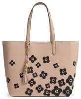 Cole Haan Payson Floral Applique RFID Leather Tote