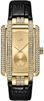 JBW Women's Mink Diamond Croc Embossed Leather Strap Watch, 28mm - 0.02 ctw
