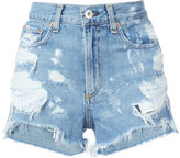 Rag & Bone Jean - Justine denim shorts - women - Cotton - 24