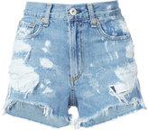 Rag & Bone Jean - Justine denim shorts - women - Cotton - 27