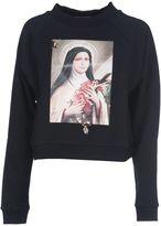 Christopher Kane Saint Teresa Print Sweatshirt