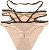For Love & Lemons Women's Yvette Bondage Panty