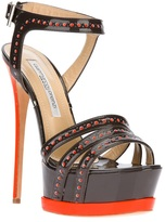 Gianmarco Lorenzi Collector platform stiletto sandal