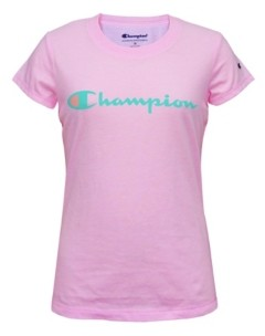 Champion Toddler Girl Short Sleeve Signature Script Graphic Tee