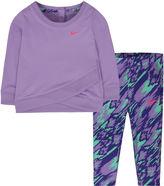 Nike Lilac Logo Tunic Set - Baby Girls newborn-24m