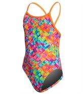 Funkita Girls' Stroke Rate One Piece Swimsuit 8151640