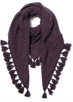 Autumn Cashmere Tasseled Donegal Cashmere Scarf