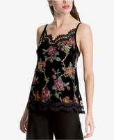 Max Studio London Floral-Print Lace-Trim Camisole, Created for Macy's