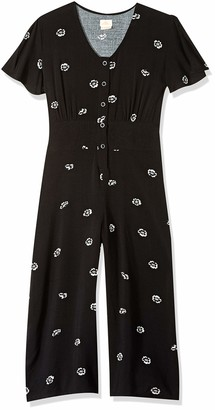 O'Neill Women's Sheldon Woven Jumpsuit with Wide Leg