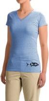 Huk KScott Tuna Back-Graphic T-Shirt - Short Sleeve (For Women)