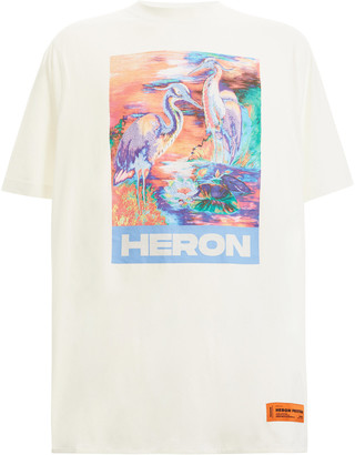 Heron Preston Printed Cotton T-Shirt