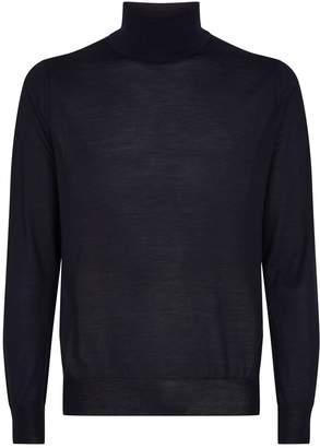 Pal Zileri Wool-Silk Rollneck Sweater