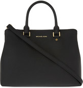 MICHAEL Michael Kors Savannah large leather satchel