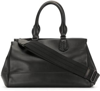 Bottega Veneta Pre Owned Structured Doctor Bag