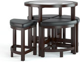 Asstd National Brand Belgrove Counter Height Dark Espresso 5pc Stained Dining Set
