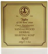 Taylor Of Old Bond Street Taylor of Old Bond Street Sandalwood Herbal Shaving Soap Refill 100g