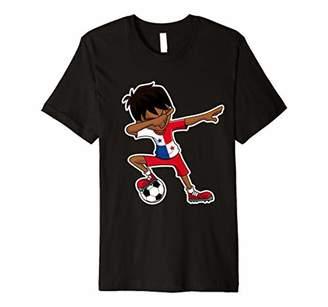 Dabbing Soccer Boy Panama Jersey Panamanian Kids Gifts Shirt