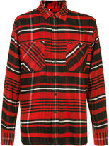 Obey plaid shirt