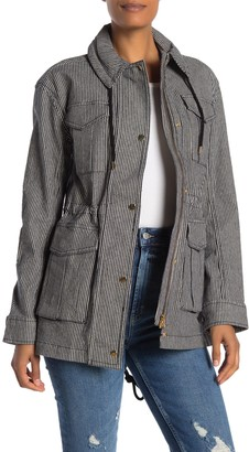 ATM Anthony Thomas Melillo Railroad Stripe Field Jacket