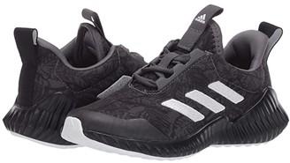 adidas Kids FortaRun (Little Kid/Big Kid) (Grey/White/Black) Boys Shoes
