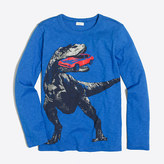 J.Crew Factory Boys' long-sleeve glow-in-the-dark dino storybook T-shirt