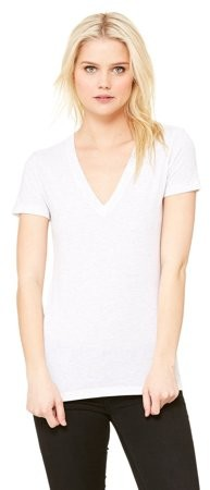 fc4a86facb5b White Wide Neck Shirt Women - ShopStyle