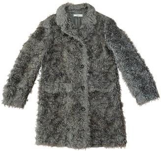 Prada Grey Faux fur Coats