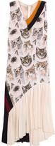 Stella McCartney Printed Silk Dress - Ivory