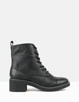 betts Stomp Lace-up Combat Boots