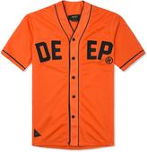 10.Deep Orange Alta Vista Baseball Jersey