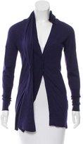 Brunello Cucinelli Twist-Accented Cashmere Cardigan