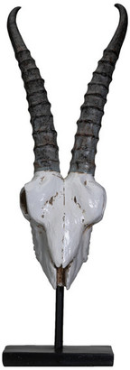 - ca Aufn/äher Schwert-Skull 30x20cm gro/ß