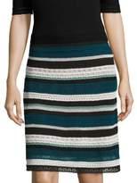 M Missoni Multi Lace Skirt