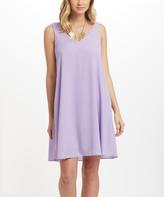 Lavender Chiffon Dresses - ShopStyle