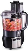 Hamilton Beach 12-Cup Stack & Snap Food Processor with Bonus Disc