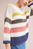 Three Dots Portloe Striped Sweater