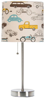 Glenna Jean Traffic Jam Mod Table Lamp With Car Shade