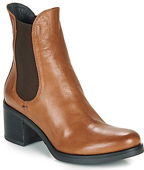 Fru.it VENETO women's Low Ankle Boots in Brown