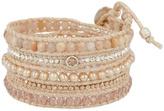 Chan Luu Pink-Mix Wrap Bracelet