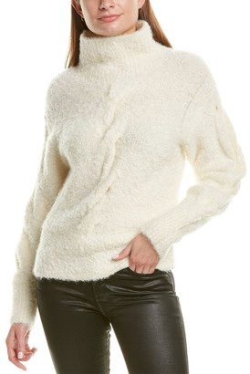 Theory Turtleneck Mohair & Wool-Blend Sweater