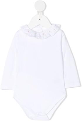 Marie Chantal Ruffled Neck Cotton Body