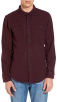 Ezekiel Dallas Herringbone Long Sleeve Trim Fit Shirt