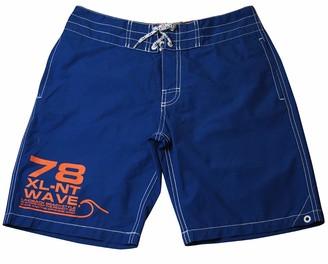 H&M H M Boys Printed Summer Swim Shorts with an Elasticated Drawstring Waist (2-4 Years