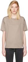 adidas Originals XBYO Taupe Satomi Nakamura Edition Panelled T-Shirt