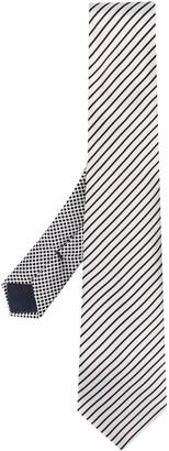 Giorgio Armani Diagonal Striped Tie