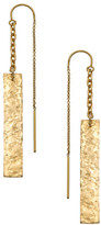 Heather Hawkins Hammered Bar Thread Thru Earrings