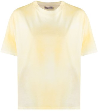 Moncler faded cotton T-shirt