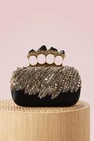 Alexander McQueen Stone knuckle clutch