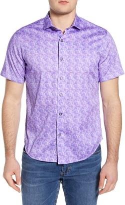 Robert Graham The Fans Short Sleeve Button-Up Shirt