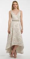 Camille La Vie Brocade High Low Prom Dress